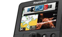 raymarine fishfinder how to read
