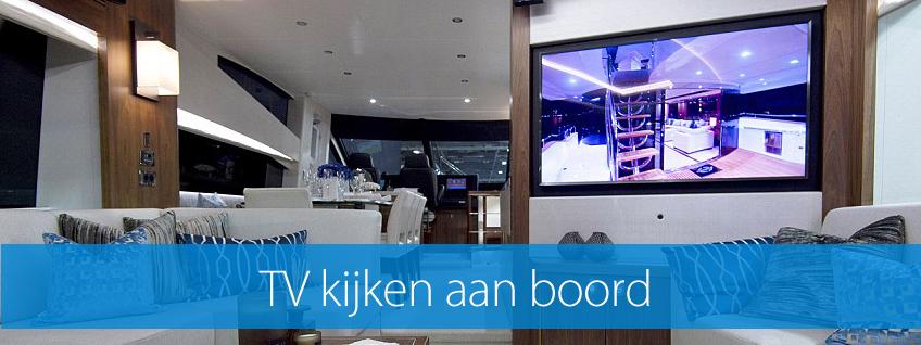 TV kijken aan boord van je boot